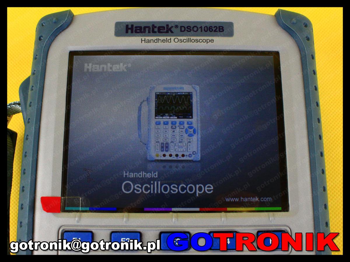 Oscyloskop cyfrowy DSO1062B HANTEK z multimetrem skopometr 2x60MHz 1GSa/s
