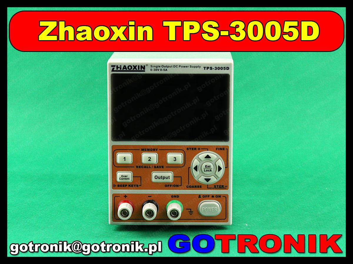 zasilacz laboratoryjny TPS3005D zhaoxin
