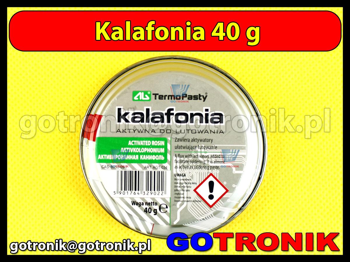 Kalafonia aktywna do lutowania 40g ART.AGT-034