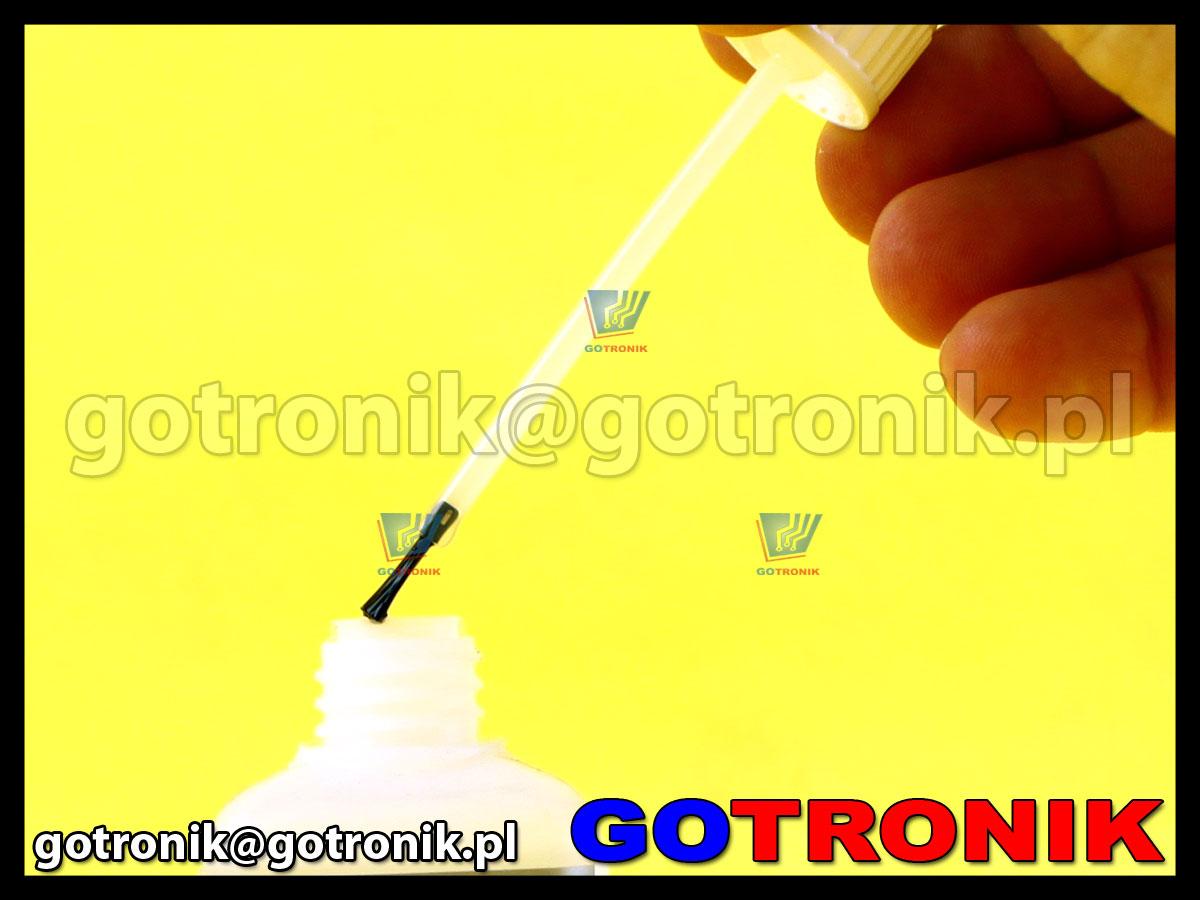 Topnik AG-5 do lutowania SMD z pędzelkiem opakowanie 100ml FLUX ART.AGT-040