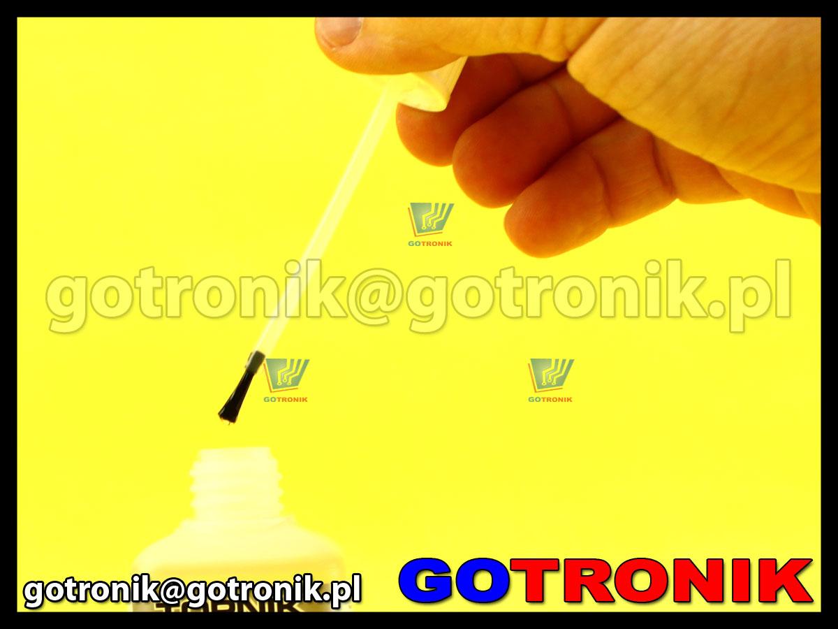 Topnik LP-1 do lutowania SMD z pędzelkiem opakowanie 100ml FLUX ART.AGT-041