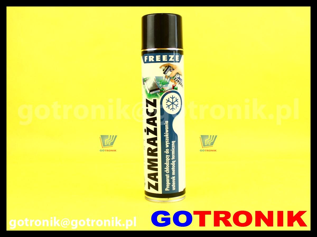 Zamrażacz 600ml mróz freezer spray aerozol ART.AGT-129