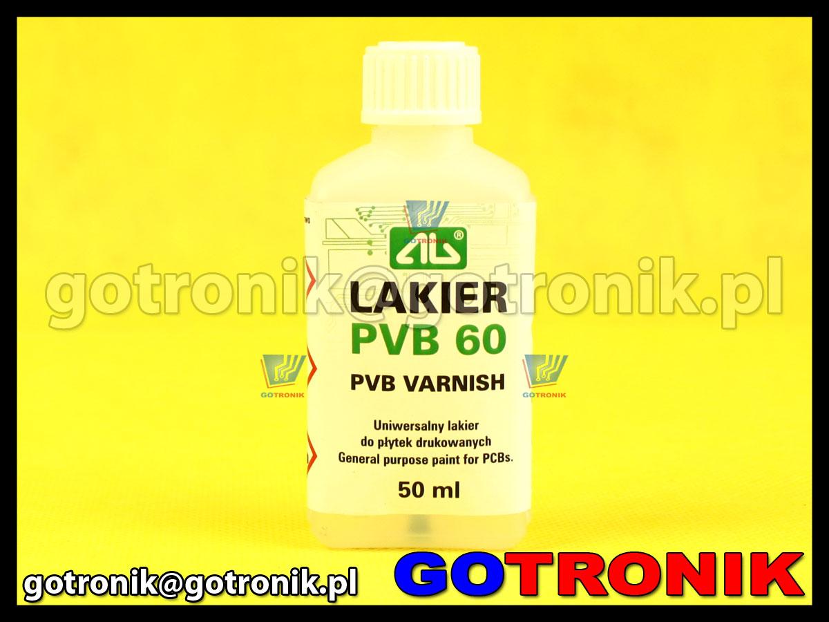 Lakier PVB 60 50 ml ART.AGT-199