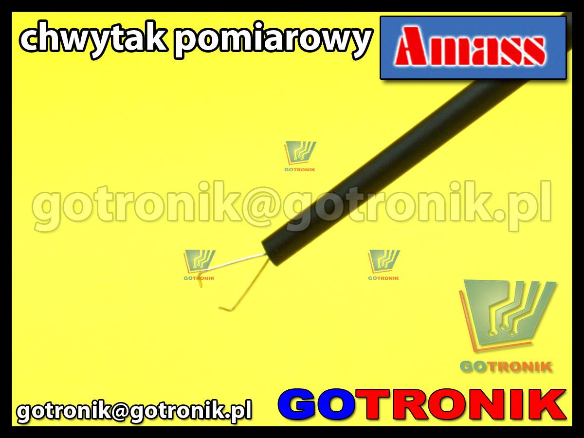 Chwytak pomiarowy czarny Amass 20.169.1 4mm