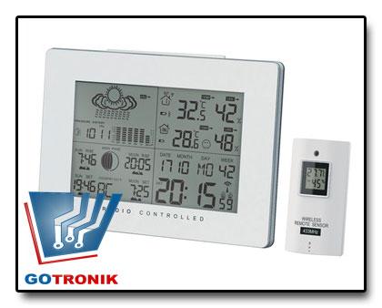 Stacja meteorologiczna - pogodowa AOK-5019 biała
