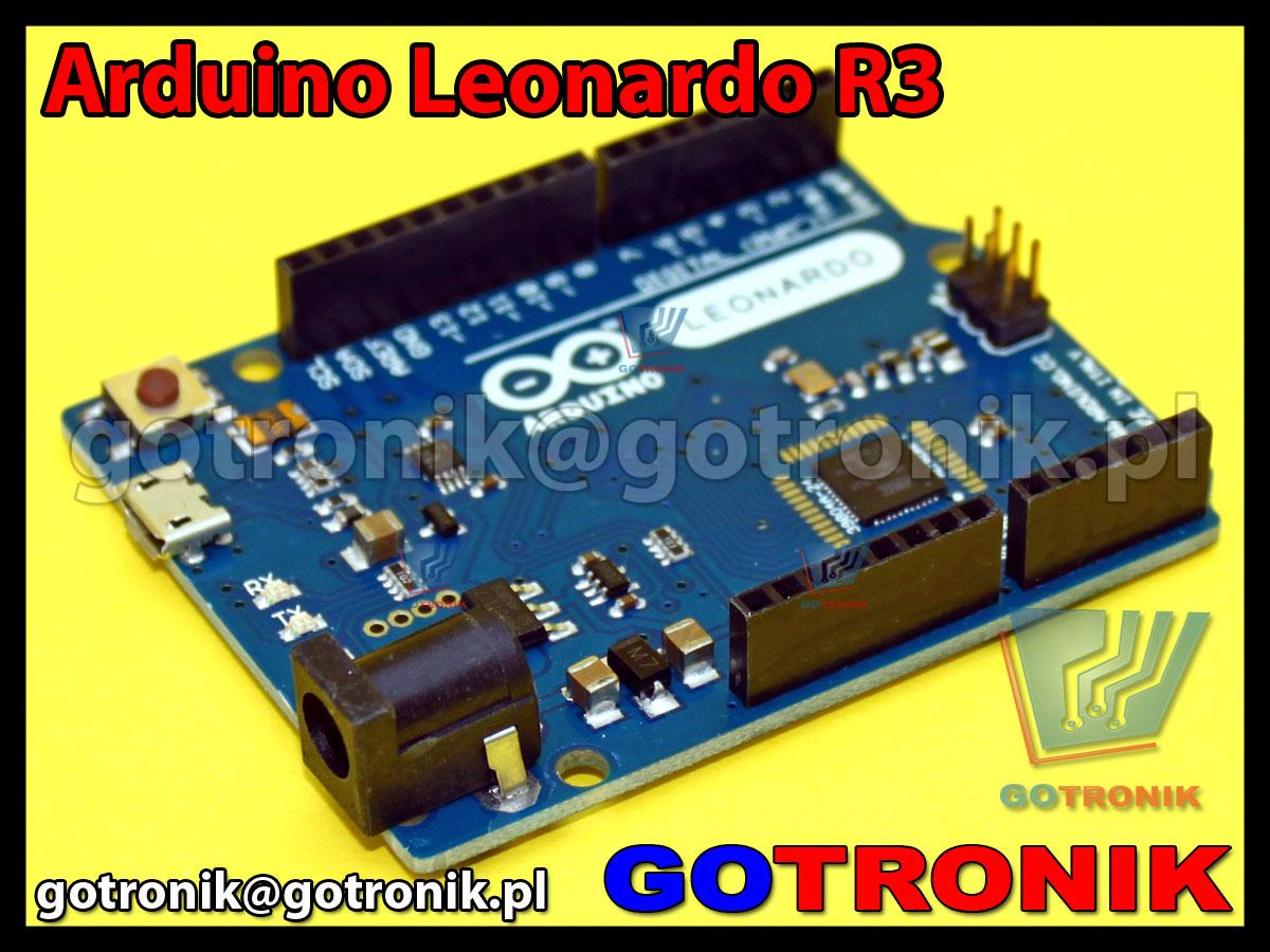 zestaw startowy zgodny z arduino leonardo r3