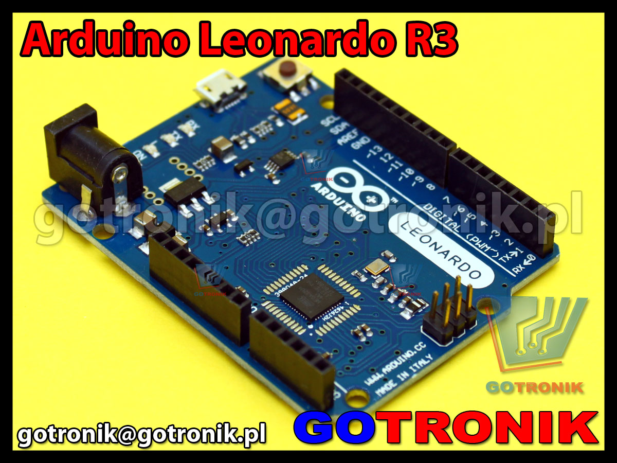 Zestaw startowy zgodny z Arduino Leonardo R3 ATmega32u4 AVR