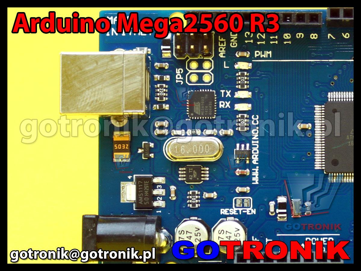 MEGA2560 R3 zgodne z ARDUINO MEGA R3 ATmega2560 AVR