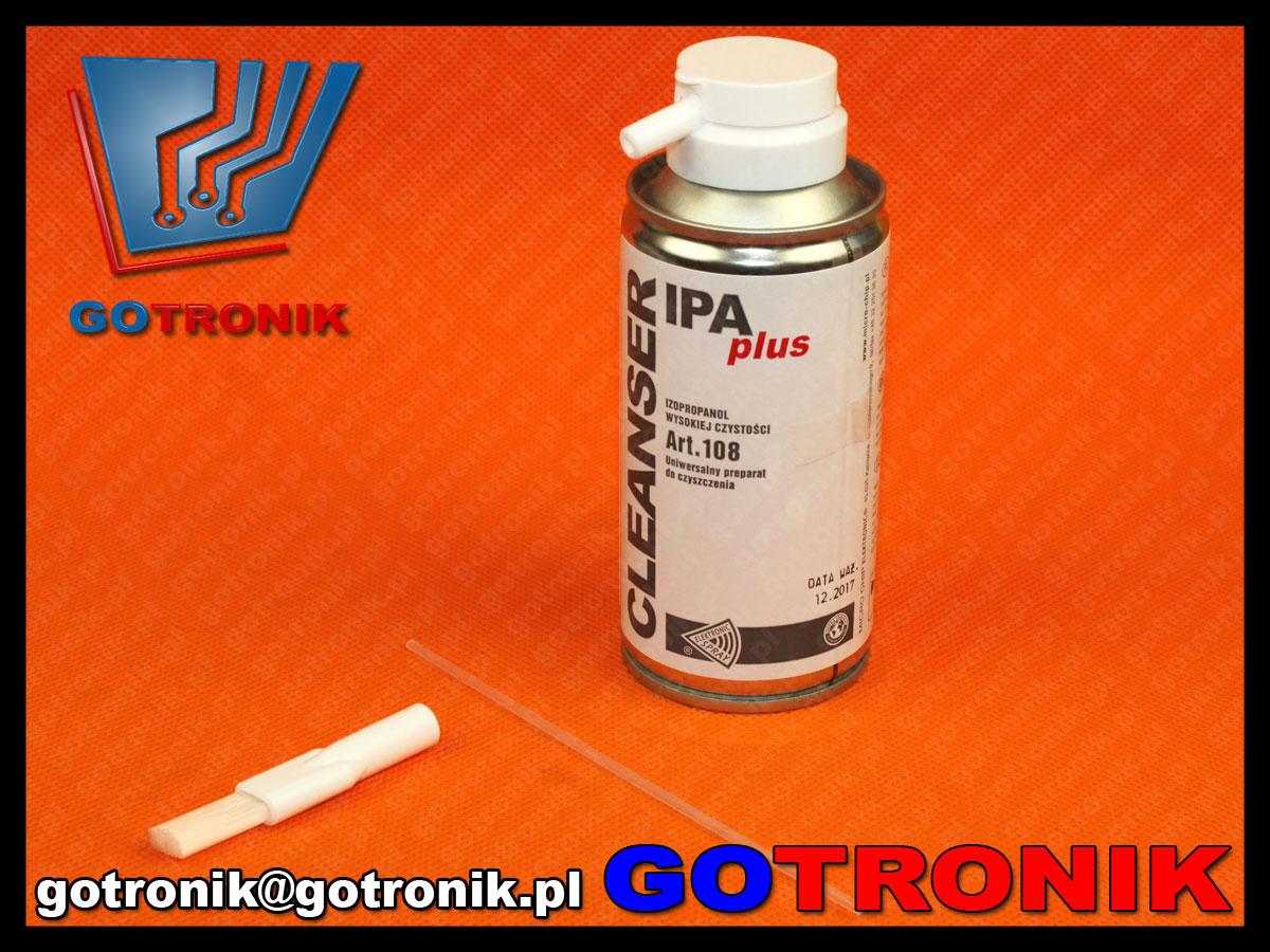ART.108 cleanser ipa plus izopropanol wysokiej czystości 150ml microchip