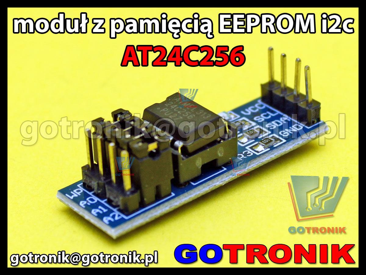 Moduł z pamięcią AT24C256 I2C Serial Eeprom