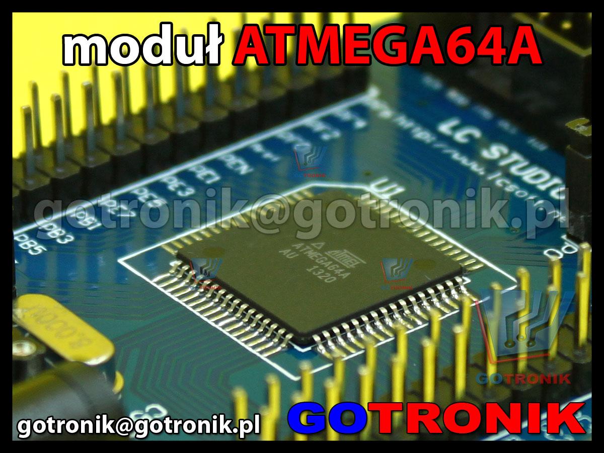 atmega64a moduł uruchomieniowy AVR do nauki programowania procesorów