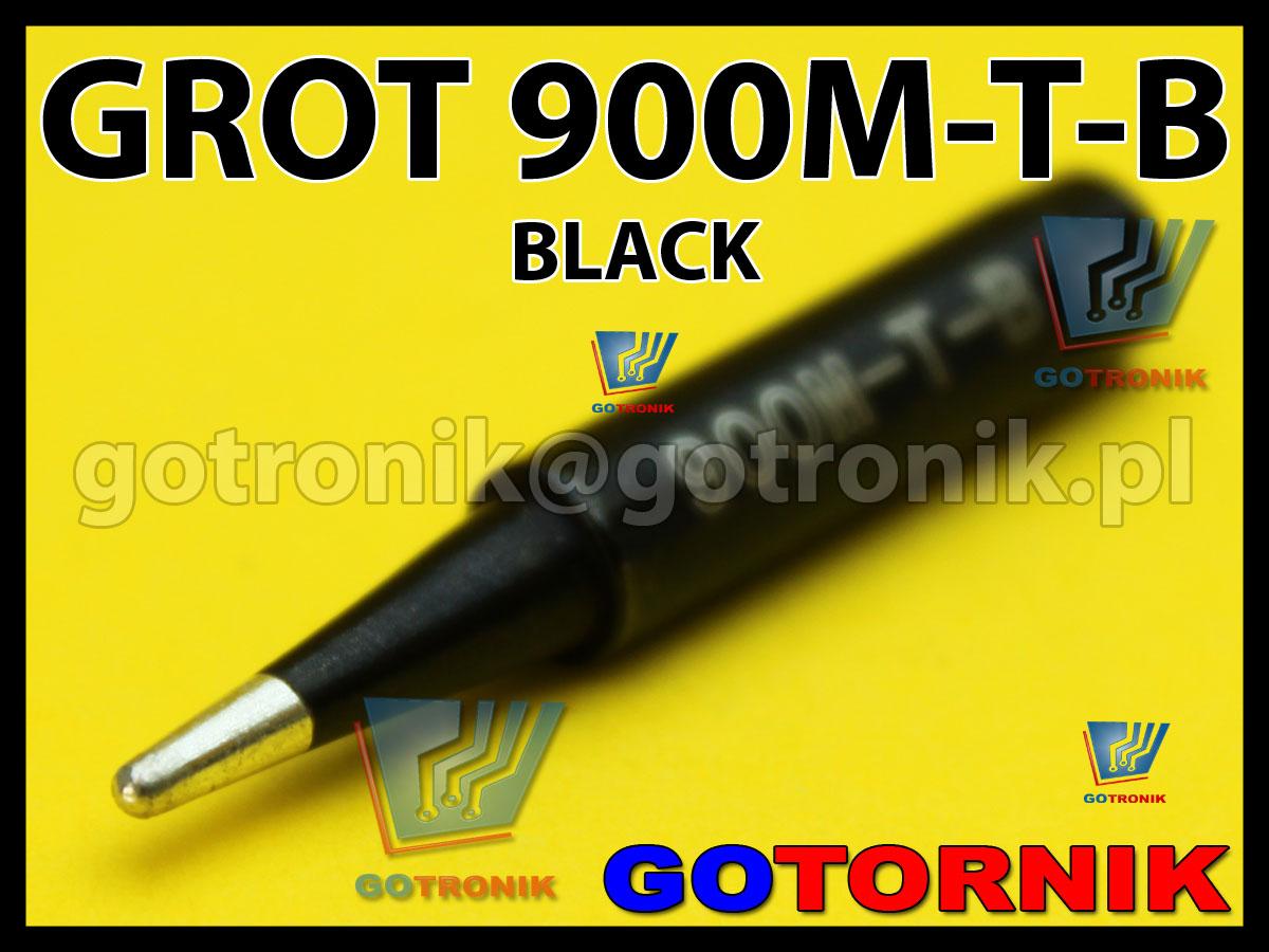 900M-T-B grot BLACK
