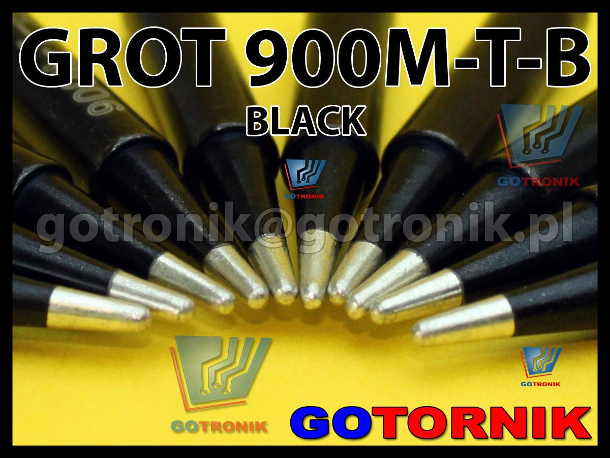 Grot 900M-T-B stożek BLACK Zhaoxin 936a 936d 852D 898d 868 d Aoyue PT WEP Yihua