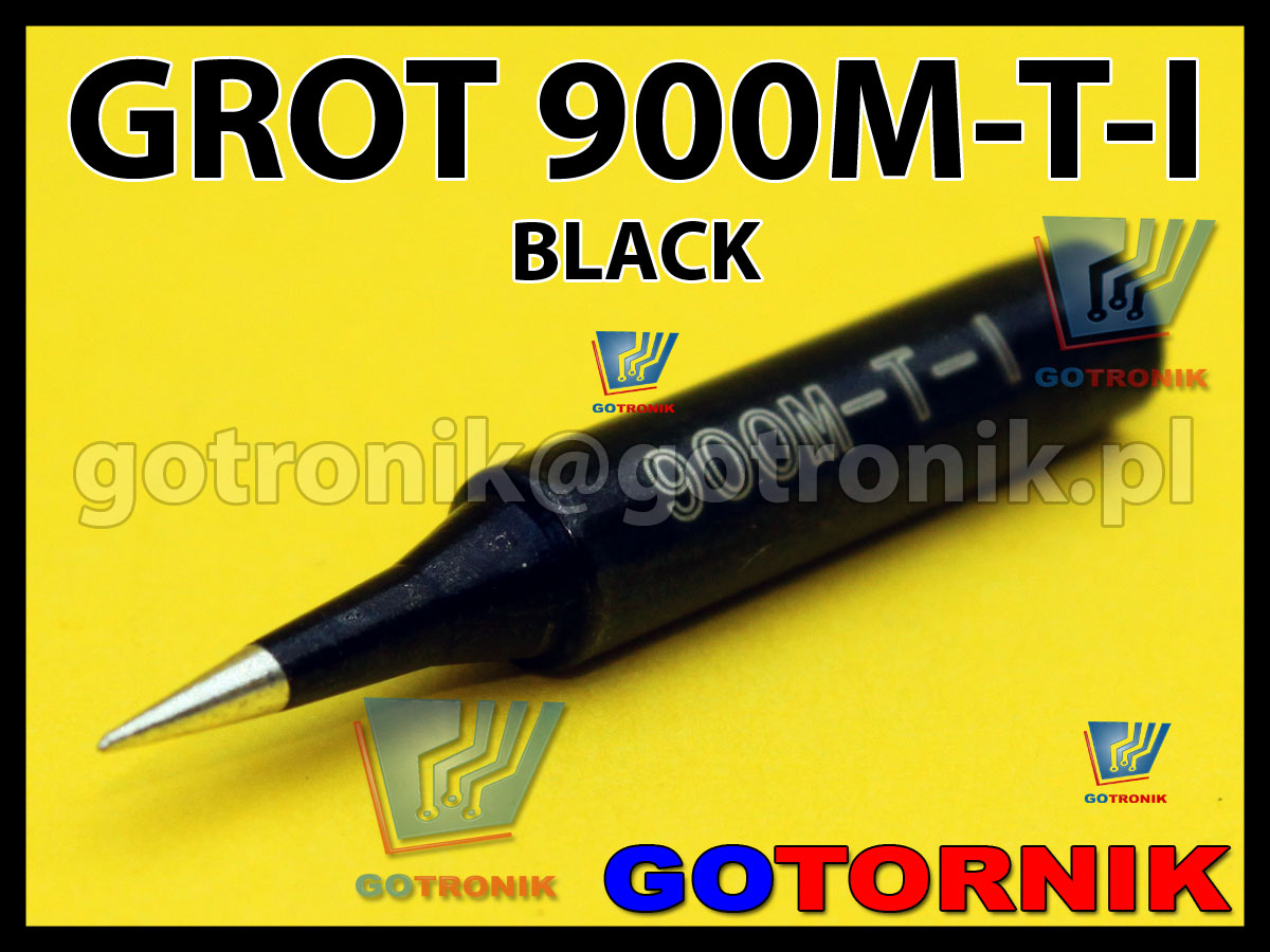 900M-T-I grot BLACK