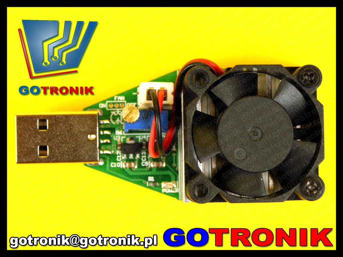 Elektroniczne obciążenie portu USB BTE-019