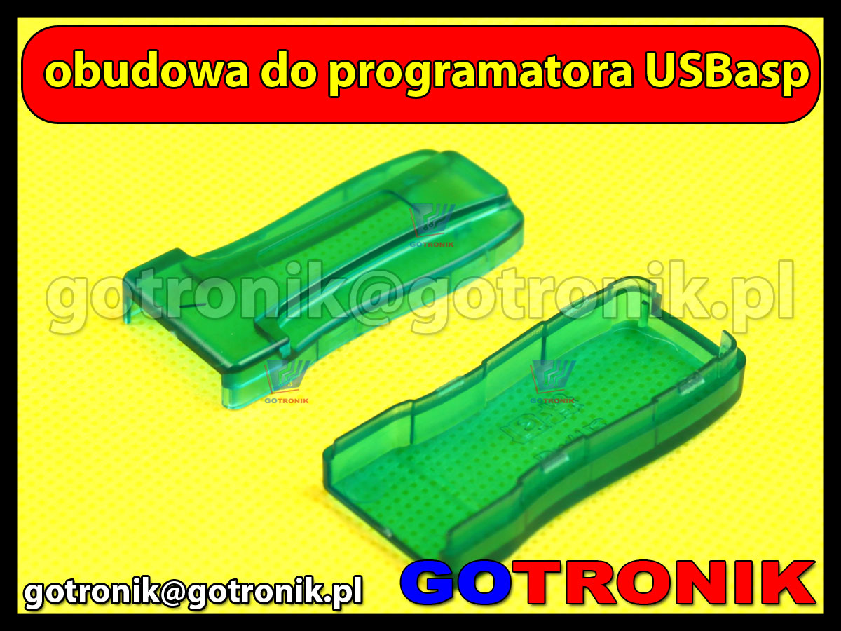 Obudowa do programatora USBasp AVR ATMEL ISP
