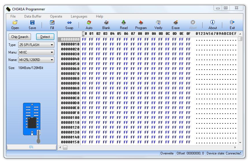 programator ch341a