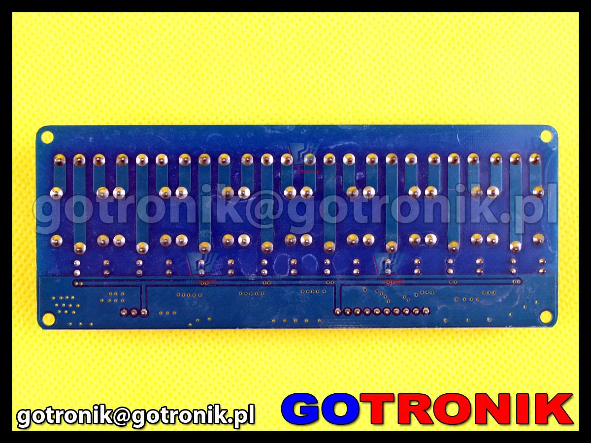 Moduł 8 przekaźników 5V z optoizolacją