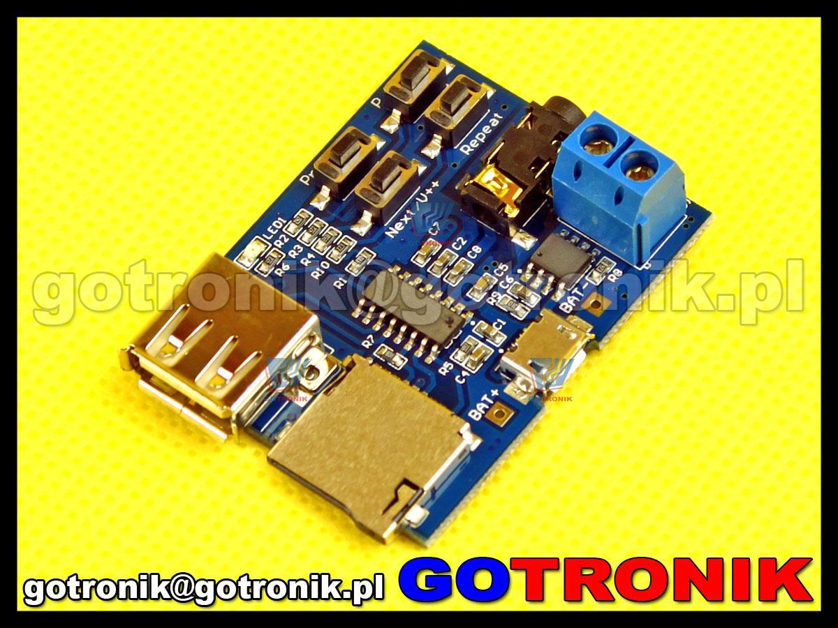 Sprzętowy odtwarzacz plików mp3