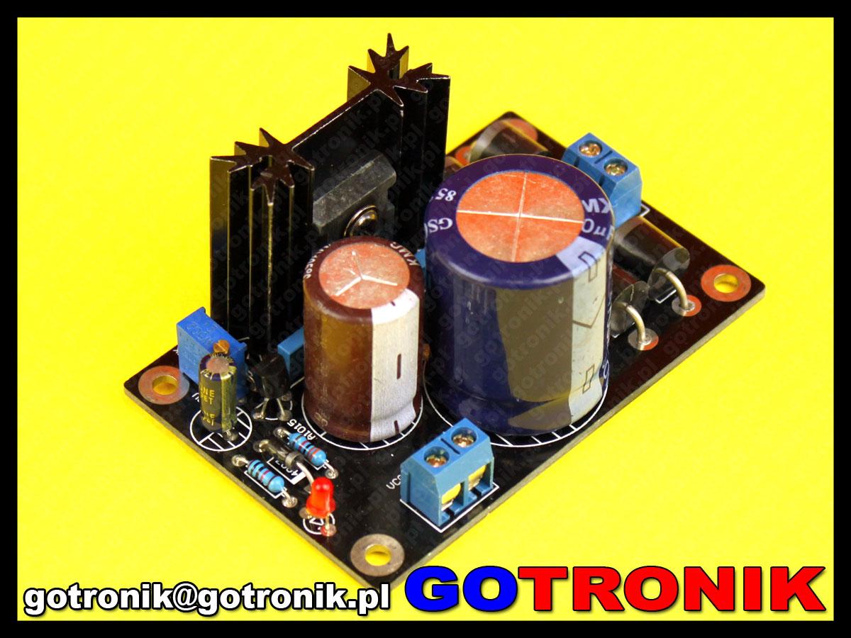 moduł zasilacza stabilizowanego dużej mocy LT1083CP LT1083