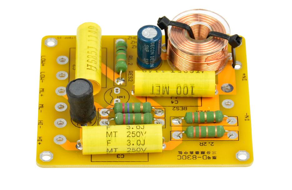 BTE-071 zwrotnica głośnikowa trójdrożna 3 150W 12db/oct. od 4ohm do 8Ω hifi audio