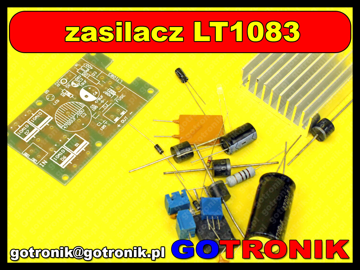 LT1083 moduł zasilacza regulowanego 7A