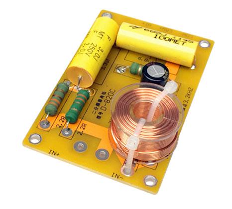 BTE-077 zwrotnica głośnikowa dwudrożna 150W od 4ohm do 8Ω hifi audio