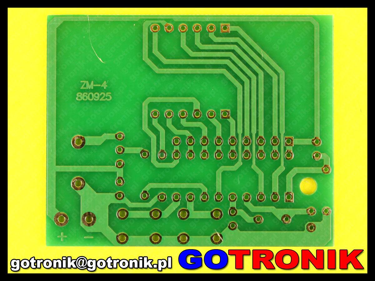4 bitowy zegar elektroniczny 4 Bits Electronic Clock Electronic Production Suite DIY Kits