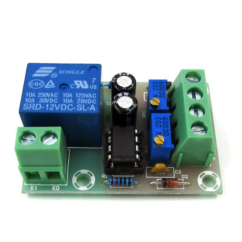 BTE-109 kontroler regulator ładowania ładowarki akumulatora 12V z przekaźnikiem