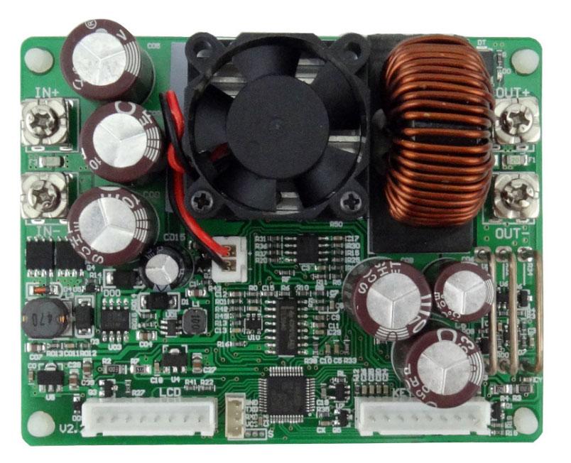 DPS5020 zasilacz przetwornica napięcia dc step down buck obniżająca napięcie 50V 1000W 20A LCD BTE-114 USB Bluetooth