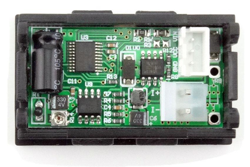 BTE-116 wielofunkcyjny miernik panelowy DC 7w1 oled woltomierz 100V amperomierz 20A