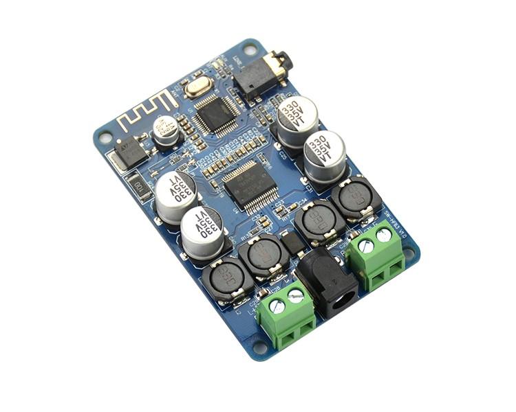 BTE-119 wzmaczniacz mocy audio klasa D 2x25W Bluetooth TDA7492P Sanwu SW-HF63 stereo