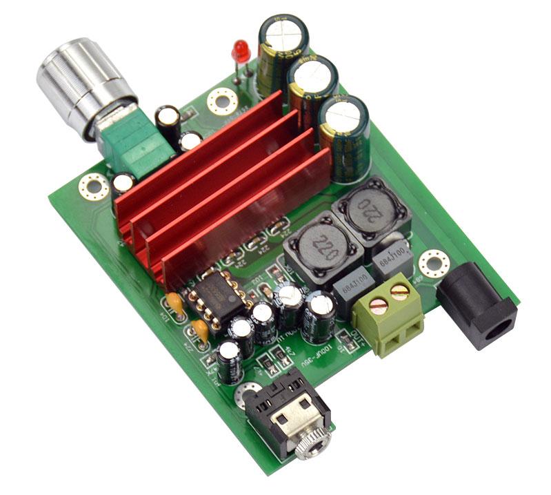 BTE-121 wzmaczniacz mocy audio TPA3116 klasa D 50W mono monoblock