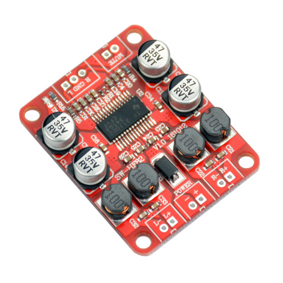 BTE-123 wzmaczniacz mocy audio TPA3110 klasa D 2x15W stereo