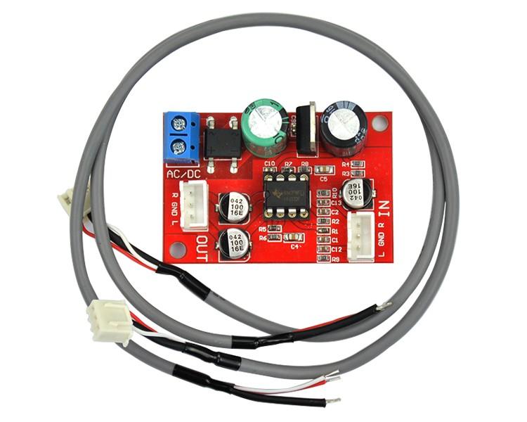 Przedwzmacniacz mikrofonowy NE5532 BTE-124