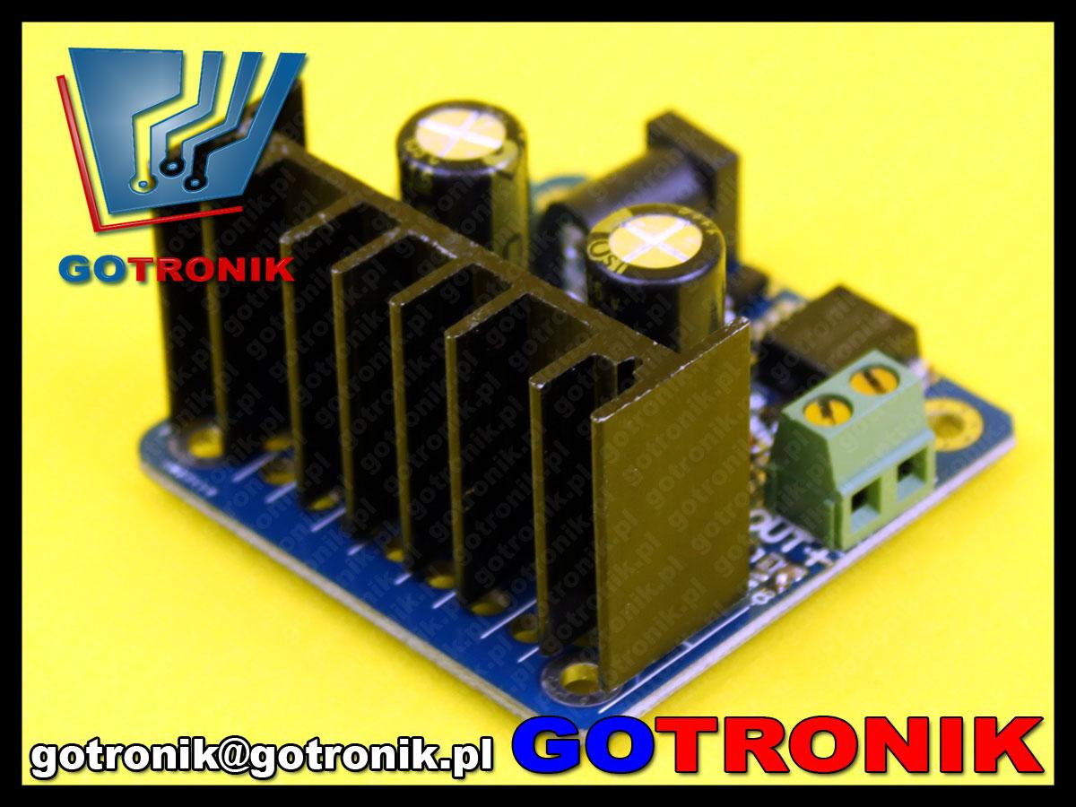 Wzmacniacz sygnału dla generatorów funkcyjnych DDS