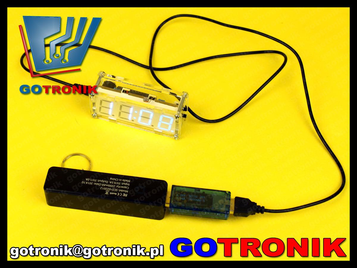 miernik napiecia, pradu, temperatury z USB BTE-143 USB CHARGER Doctor