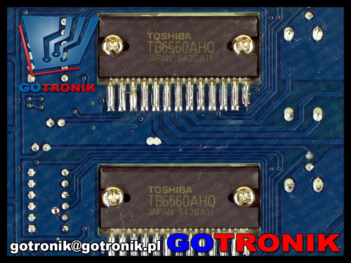 Sterownik silników krokowych Toshiba TB6560AHQ