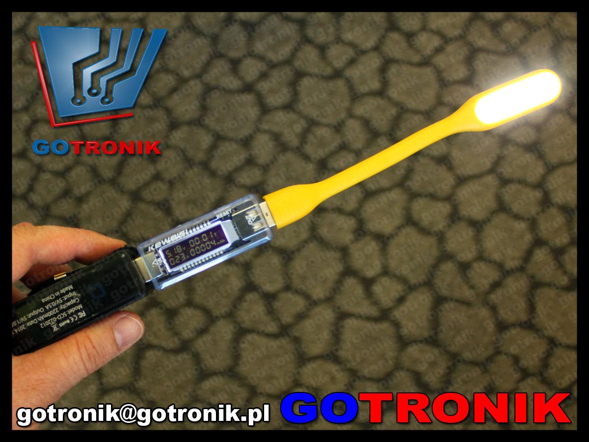 USB  KWS KEWEISI-V20 miernik tester charge doctor