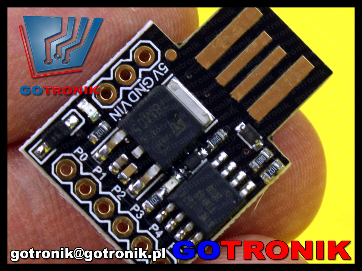Digispark kickstarter Arduino AtTiny85 USB