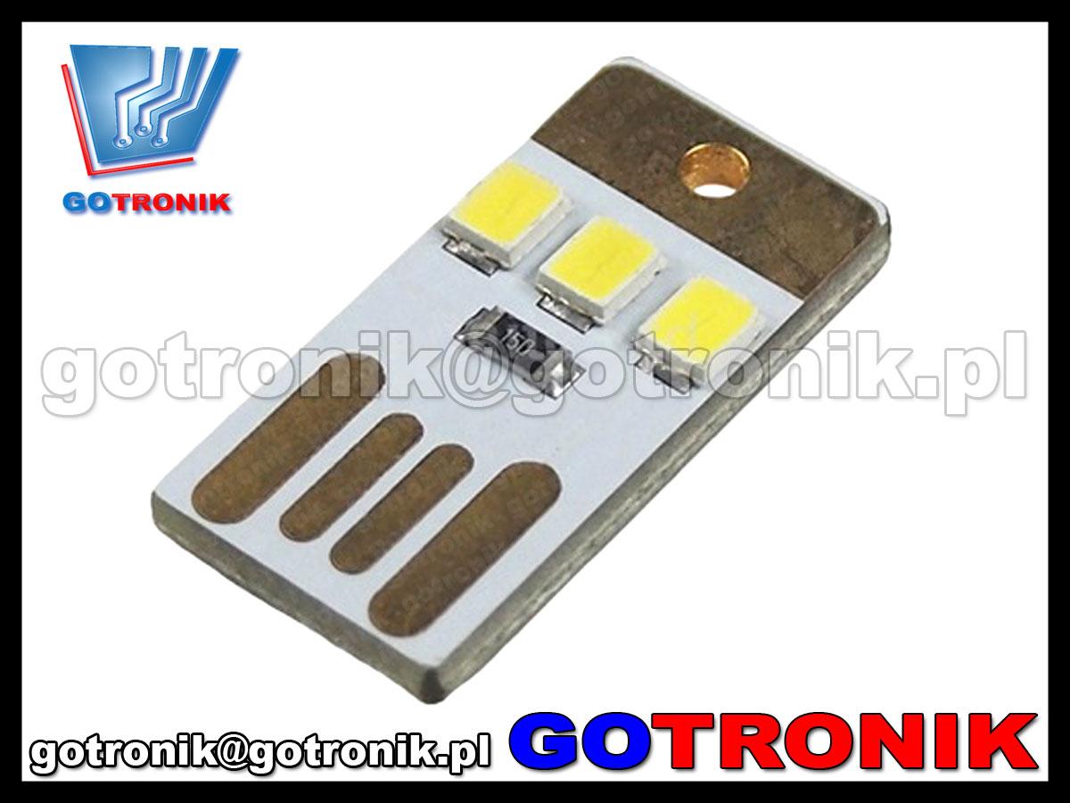 mini lampka USB LED 2835