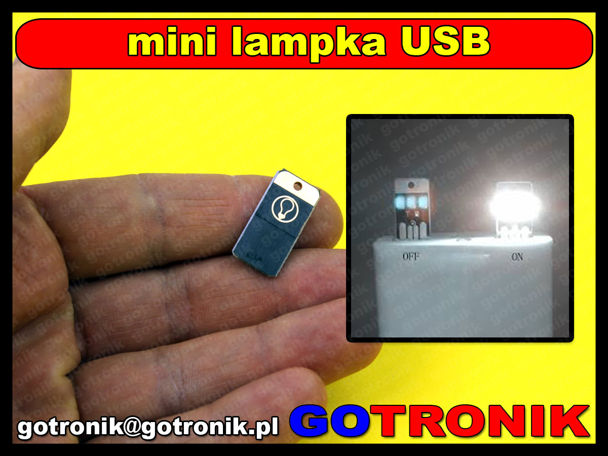 mini lampka USB LED 2835