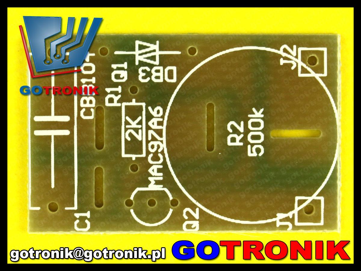 ściemniacz, regulator mocy AC230V 100W zestaw do samodzielnego montazy DIY KIT