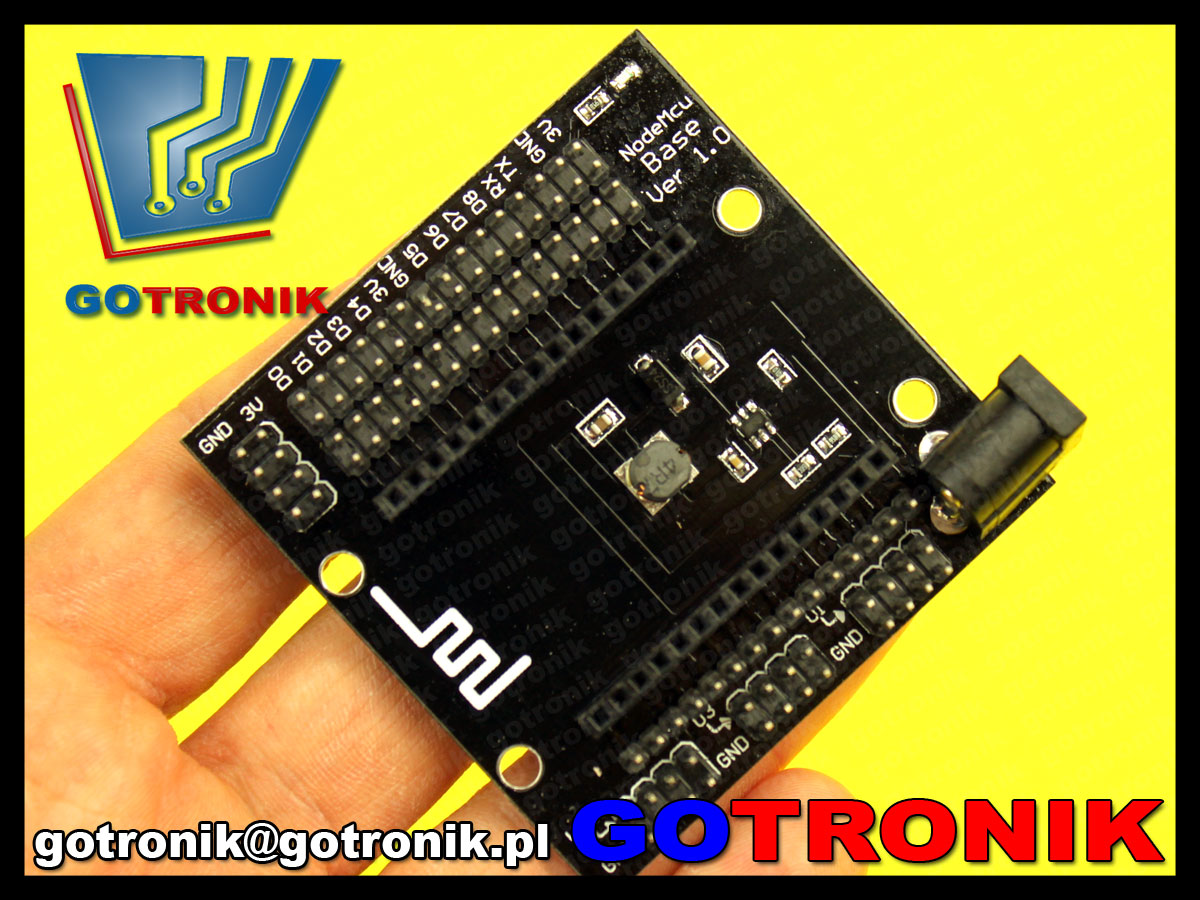 Płytka bazowa dla ESP8266 NodeMcu V3 testowa