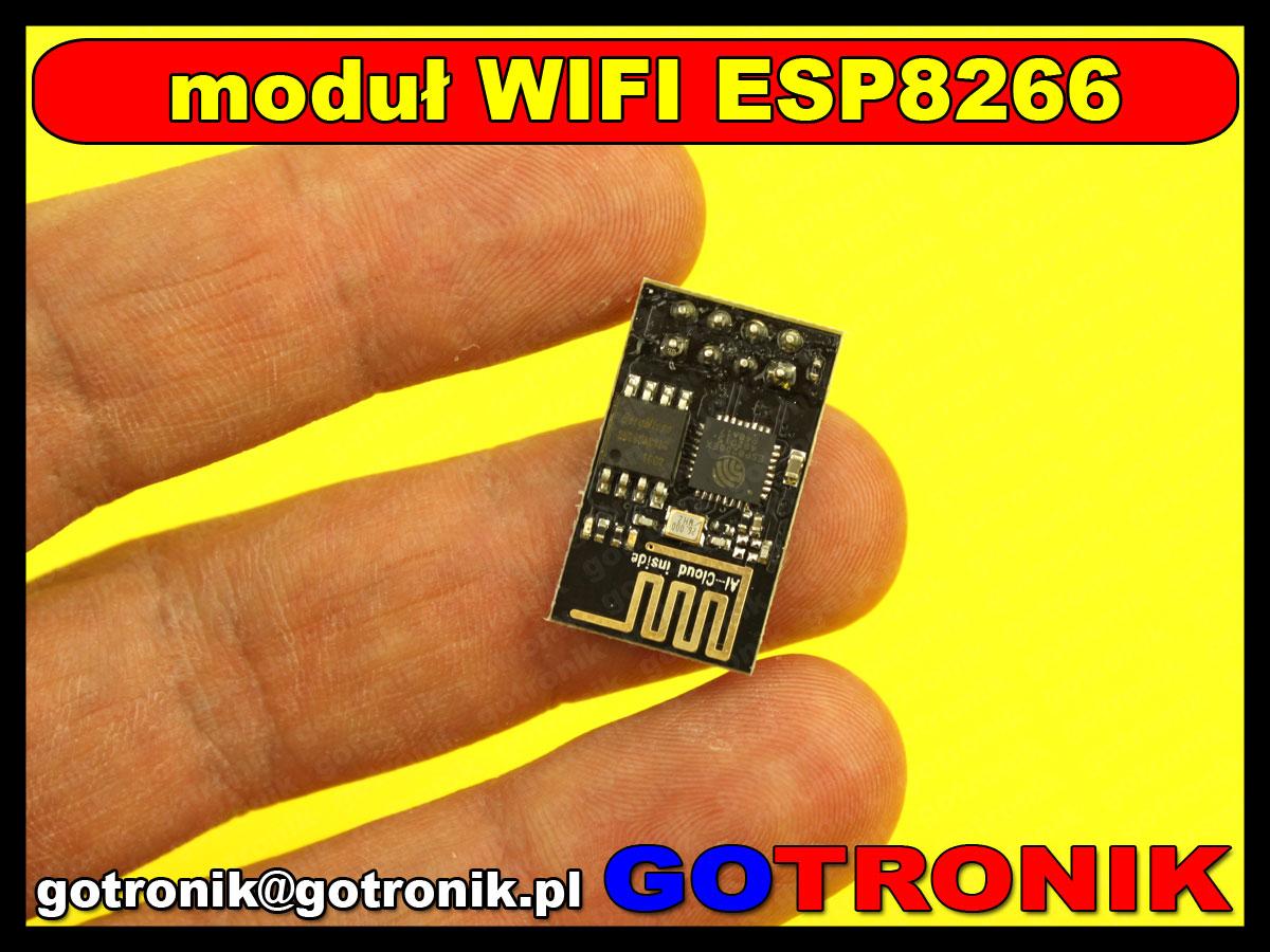 ESP8266 serial WIFI model ESP-01 moduł komunikacyjny