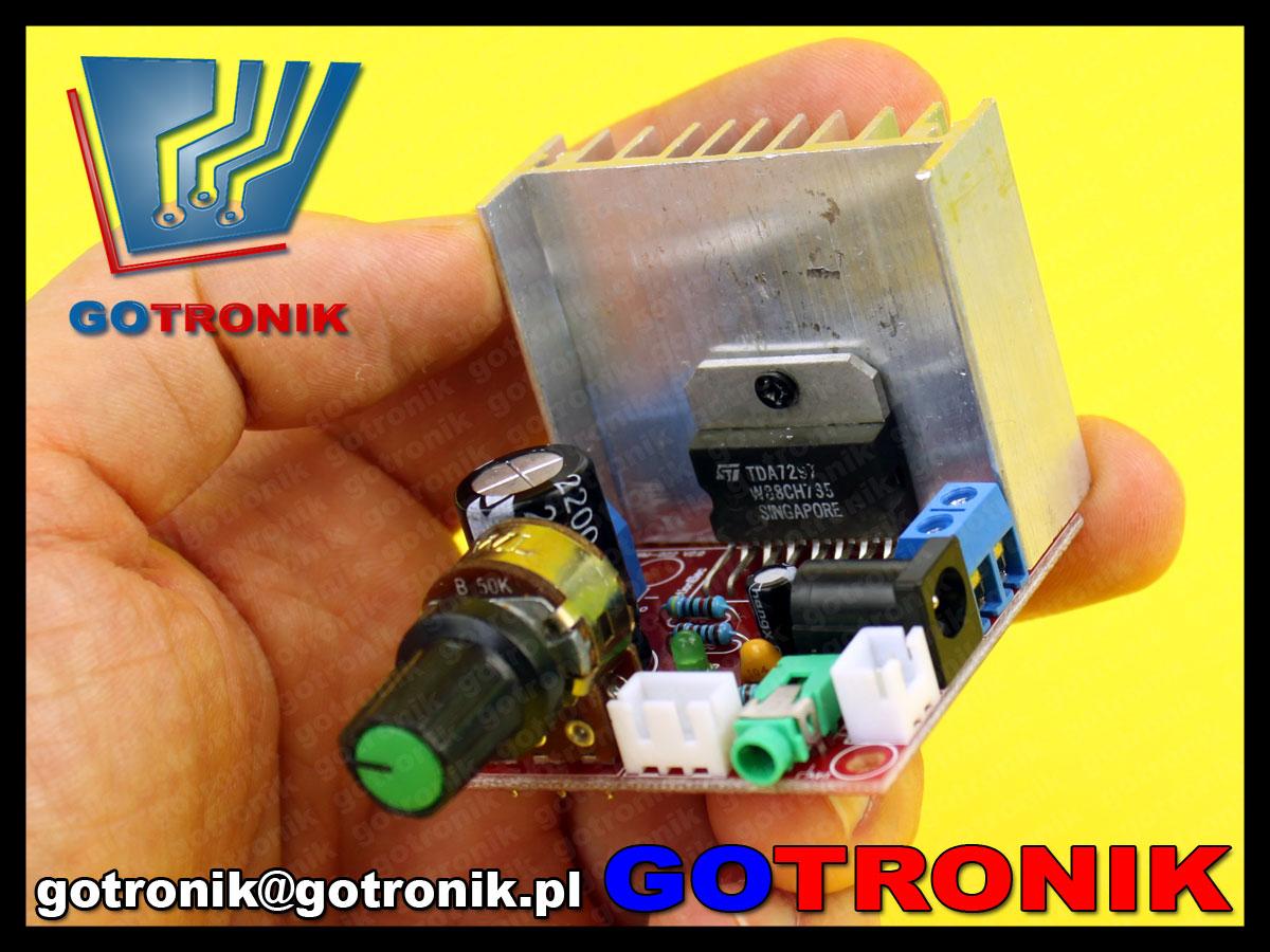 TDA7297 wzmacniacz mocy audio akustyczne KIT DIY BTE-225