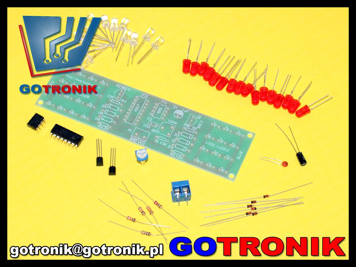 BTE-228 efekt świetlny stroboskopowy migające diody LED
