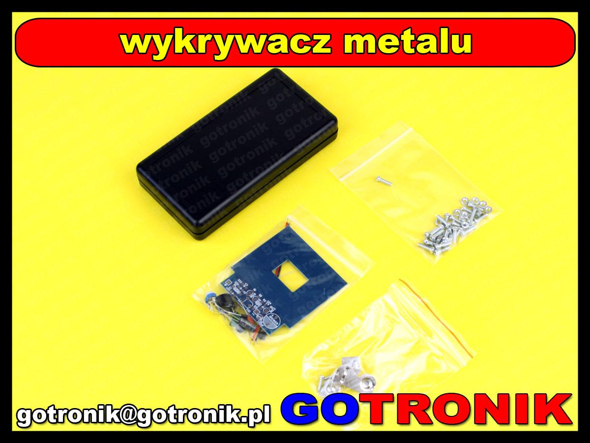wykrywacz metali metalu elektroniczny ręczny