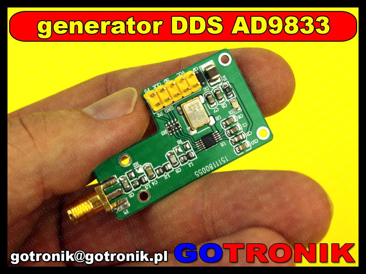 BTE-237 moduł generator DDS AD9833 Analog Device