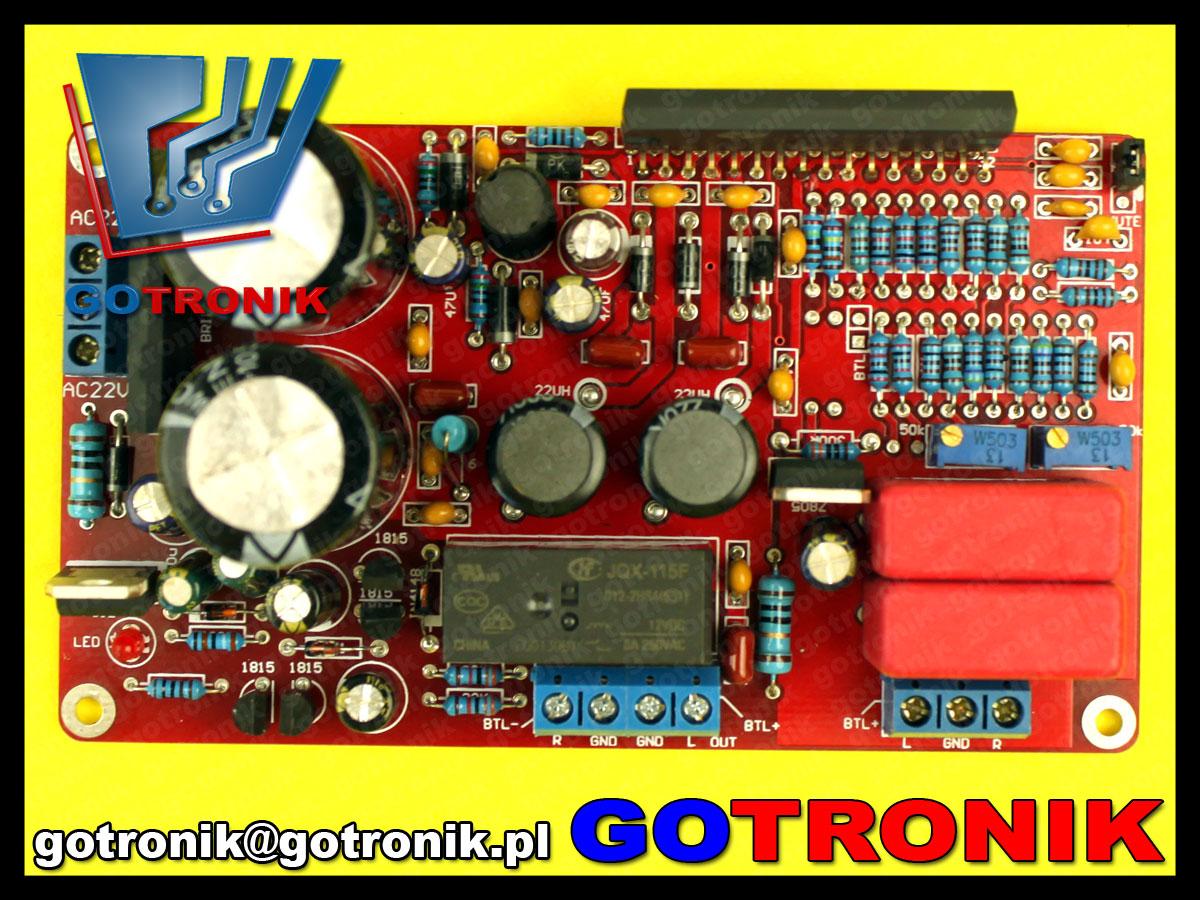 TA2022 TRIPATH 90W + 90W wzmacniacz mocy audio akustyczny klasa T